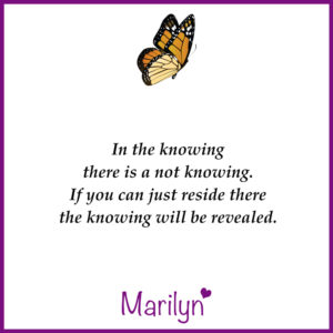 In-the-knowing